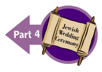 Jewish Wedding Vows and Ring Ceremony