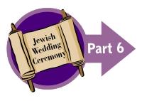Jewish Glass Breaking Ceremony