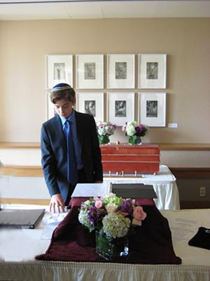 The calm before the Bar Mitzvah